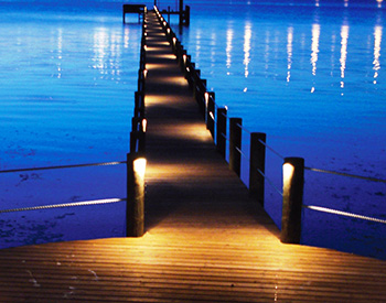 quality dock lighting installation ft myers naples & cape coral, Reel Combo