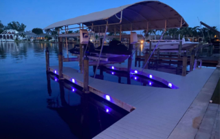Dock lights go beyond the traditional.